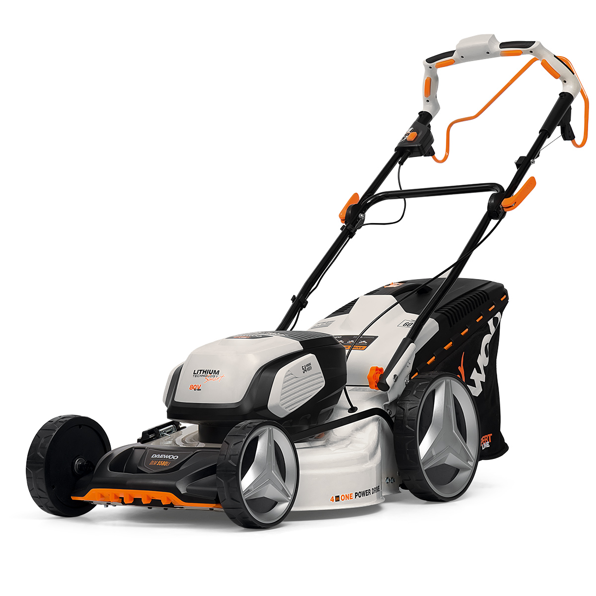 Battery Lawn Mower Daewoo DLM 5580Li