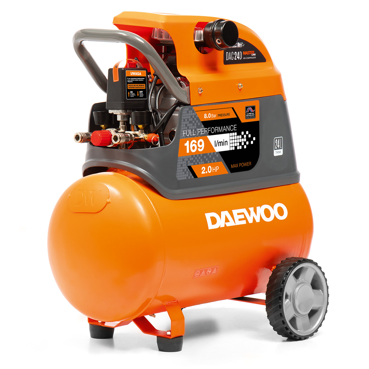 Air Compressor Daewoo DAC 24D